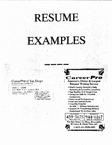 resume business services